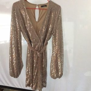 Sequin dress from SHEIN